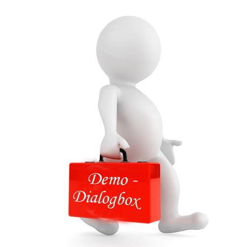 Demo og dialog box med seksualprodukter