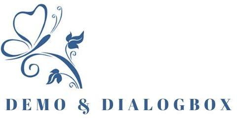 Demo og dialogbox v. Helle Koldsø